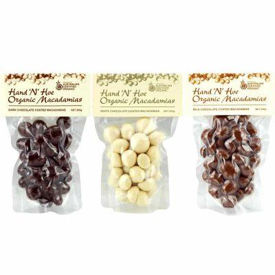 Organic Macadamia Nuts - Chocolate Coated
