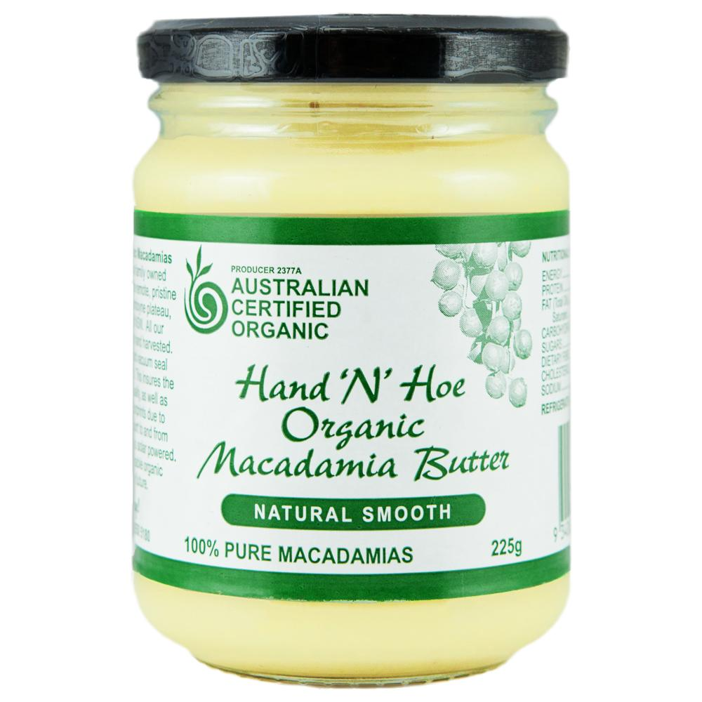 Organic Macadamia Butter �C Natural Smooth