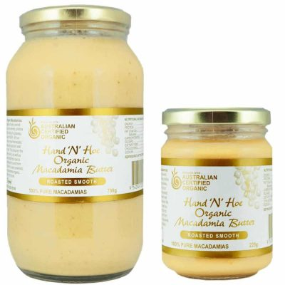 Organic Macadamia Butter - Roasted Smooth