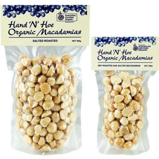 Organic Macadamias - Dry Roasted & Salted