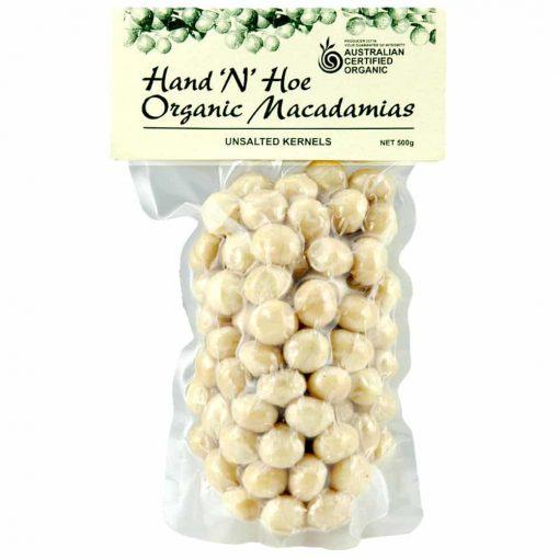 Organic Macadamias, Unsalted