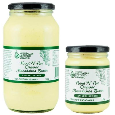 Organic Macadamia Butter - Natural Smooth