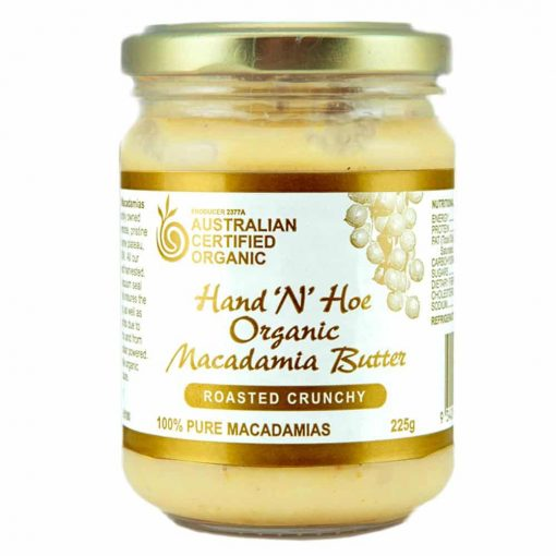 Organic Macadamia Butter - Roasted Crunchy