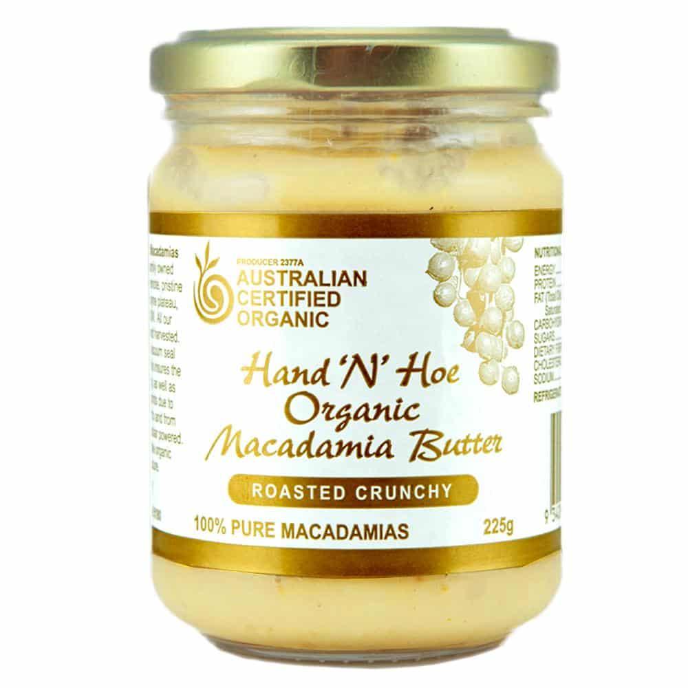 Organic Macadamia Butter - Roasted Crunchy