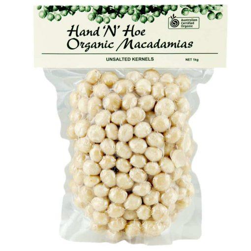 Organic Macadamias - Unsalted
